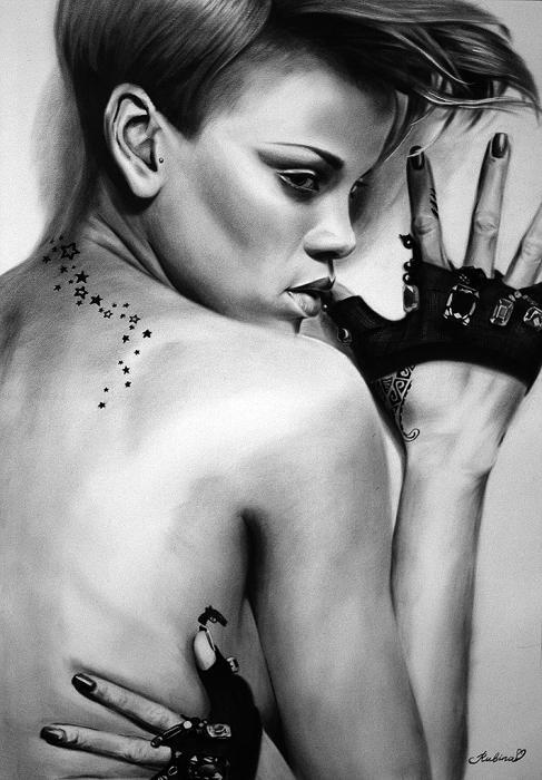 Rihanna por Rubina10